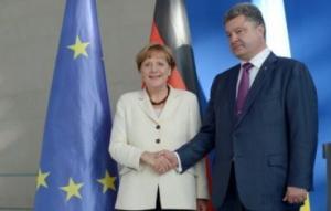 порошенко, меркель, политика, общество, минск