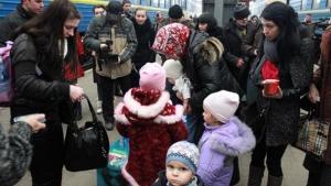 беженцы и перселенцы, москва, донбасс, ато, восток украины, происшествия, донецк, луганск