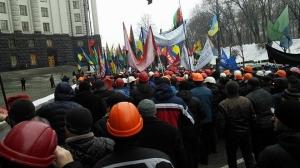 киев, происшествия, общество, шахтеры, митинг, донога, кихтенко