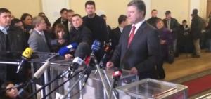 порошенко, выборы, парламент, эмоции