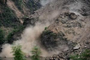 природное бедствие, оползень, китай