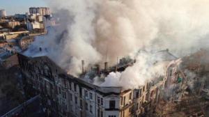 владимир зеленский, траур, новости украины, колледж, пожар, трагедия, погибшие, новости одессы