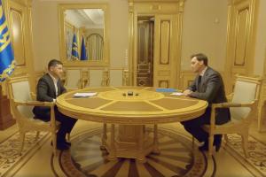 гончарук, зеленский, украина, экономика, скандал, кабмин