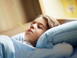 грипп, дети,болезнь