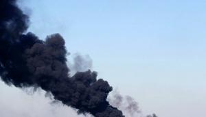 аэропорт донецк, пожар