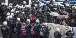 Германия, происшествия, мир, новости Европы, новости Германии, манифестации, протесты,
