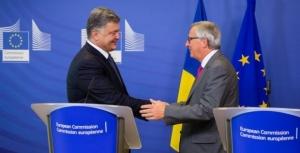 еврокомиссия, безвизовый режим, украина, юнкер, порошенко