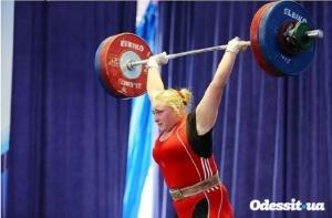 спорт, тяжелая атлетика, чемпионат европы, грузия, анастасия лысенко, второе место