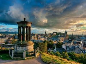 землетрясение, шотландия, эдинбург