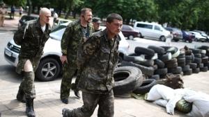 Порошенко, обмен пленными, Донбасс, АТО, Донецк, ДНР, Луганск, ЛНР, Украина, АТО, Нацгвардия, солдаты