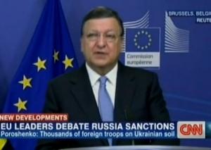 АТО, Донбасс, восточная Украина, Евросоюз, Путин, Баррозу, Оланд