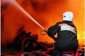 пожар, россия, оренбурская область