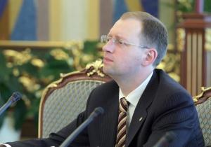 яценюк, перегворы с россией, донбасс, минские договоренности