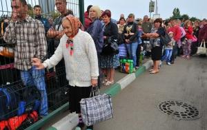 АТО, война в Донбассе, переселенцы, беженцы, юго-восток Украины