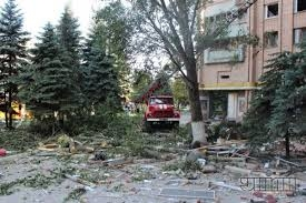 Луганск, обстрел, жилые дома, ато