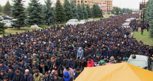 Ингушетия, новости, протесты, силовики, намаз, майдан, Россия