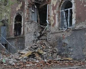донецк, разрушения, донбасс, дом, погибшие