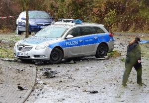 германия, полиция, взрыв, ссора