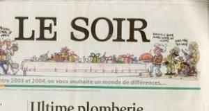 Редакция, звонок,  Le Soir, Брюссель, арестовали, полиция