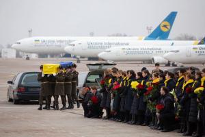 Boeing, самолет, украина, авиакатастрофа, мау, иран, киев, прощание