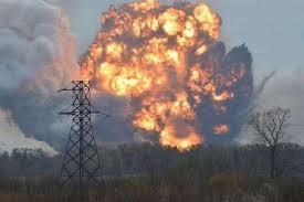 Донецк, мощный взрыв, ударная волна, Макеевка