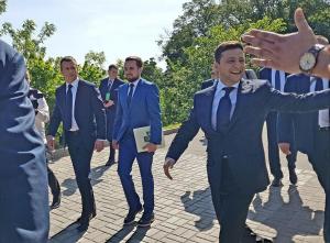 инаугурация, президент украины, владимир зеленский, присяга, петр порошенко, поступок, фото, украина
