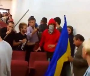 испания, студенты, националисты, драка, мадрид