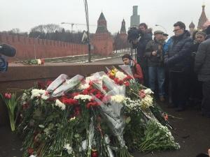 Акция памяти Бориса Немцова. Прямая видео-трансляция