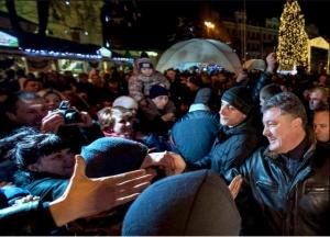 порошенко, ёлка, киев, софиевская площадь