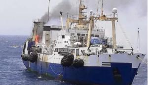 Украина, судно, африка, ЧП, пожар, трагедия, Иван Голубец, моряк