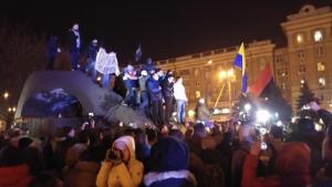 украина, днепропетровск, происшествия, общество, видео, памятник петровского