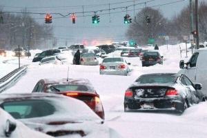 снегопад, сша, нью-йорк, наводнение