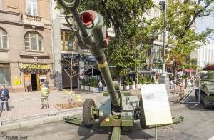 Киев, выставка, армия, техника, танки, Крещатик, Полторак