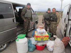 Запорожье, АТО, гуманитарный груз, общество, ВСУ, Донбасс, конфликт, волонтеры
