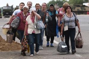 Украина, Донбасс, переселенцы, Россия, Мурманск, общество