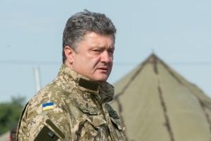 Порошенко, Нацгвардия Украины, Новые Петровцы, обороноспособность страны, восток Украины