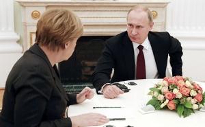 Меркель предложила Путину мирный план