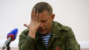 новости украины, александр захарченко, днр, донецк, донбасс