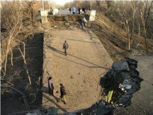 Мост, Луганск, Айдар, ЛНР, Станица Луганская, конфликт в Украине, АТО, восток Украины, Донбасс