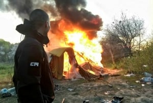 С14, новости, Украина, происшествия, Киев, полиция, ромы, группа, права, полиция