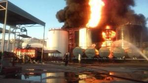 киев, происшествия, общество, пожар, мвд украины, нефтебаза
