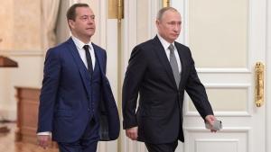 россия, путин, медведев, назначения