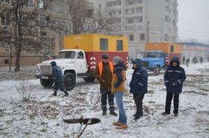 николаев, коммунальщик, водоканал, криминал, конфликт, драка, лопата, полиция, видео