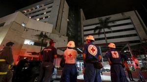 эквадор, землетрясение, стихийные бедствия, природные катастрофы, происшествия, новости