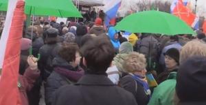 Немцов, Санкт-Петербург, Москва, митинг, прямая онлайн трансляция, траурное шествие, 1 марта