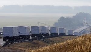 гуманитарный конвой, грузовики, снбо