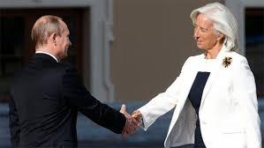 Путин, Лагард, Украина, кредит, МВФ, предоставление, помощь, обсудили