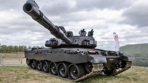 Великобритания, Танк, Россия, Оборона, Техника, Challenger 2, Черная ночь.
