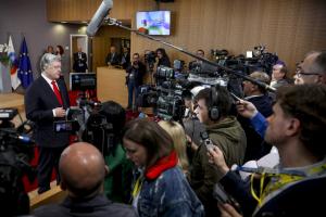 порошенко, туск, евросоюз, санкции, минские соглашения, война на донбассе, восток украины