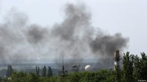 Донецк, аэропорт, 15 августа, АТО